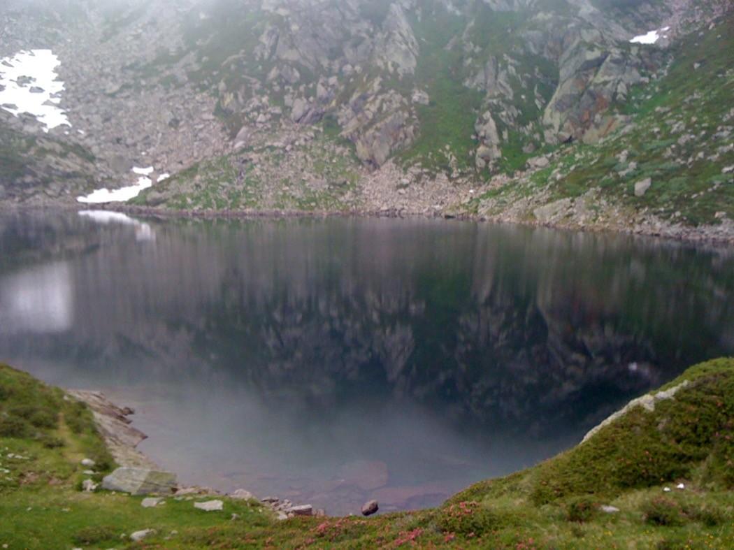 Il lago alpino Seja