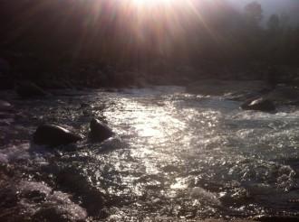 Prime luci sul Sesia, ultime luci della stagione di pesca