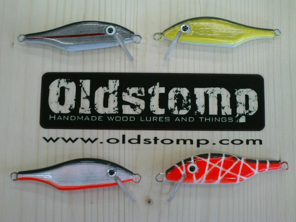 sbirulino 7 minnow- old stomp lures