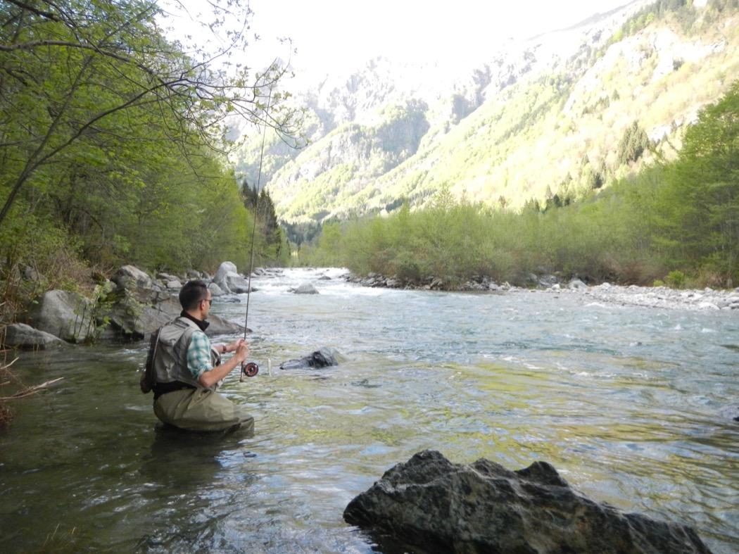 Franco Crozzoletto pesca a ninfa