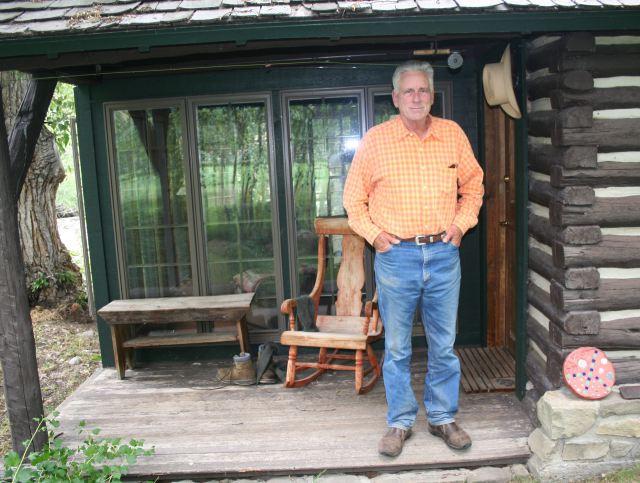 Thomas Mc Guane ed il suo portico