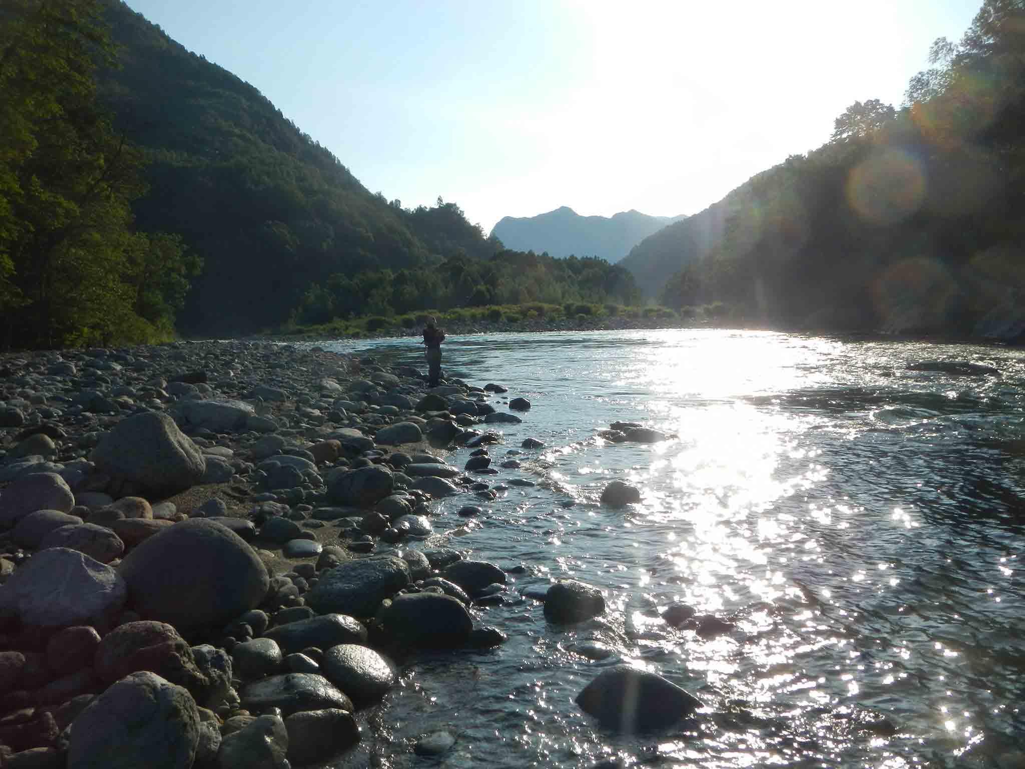 Luci-sul-fiume Sesia