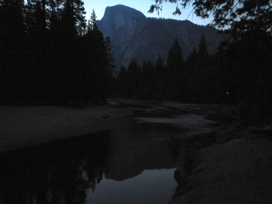 Alba sullo Yosemite Creek - Sunrise at Yosemite Creek