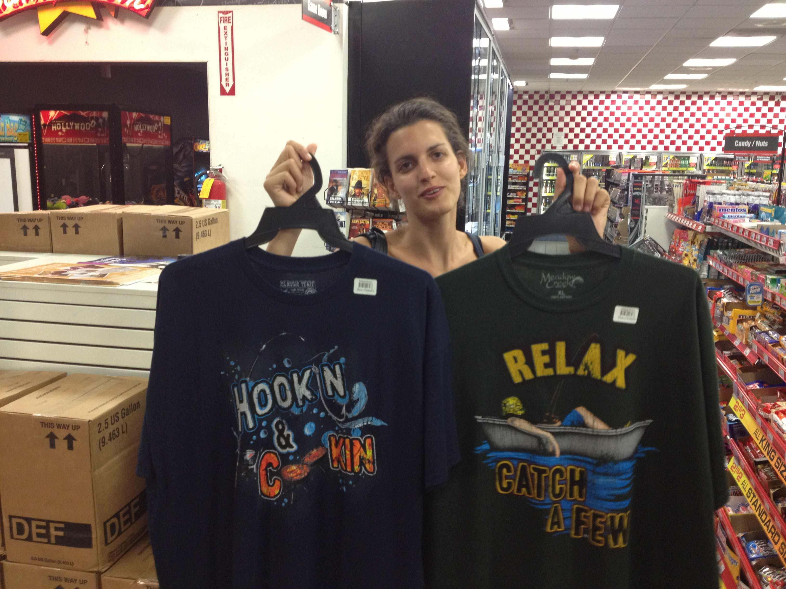 T-shirt al market di Cornig
