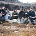 foto di gruppo pre-cena