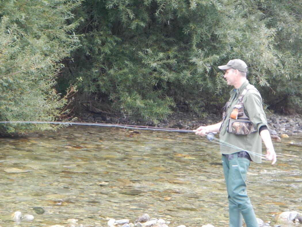 posa pesca a mosca