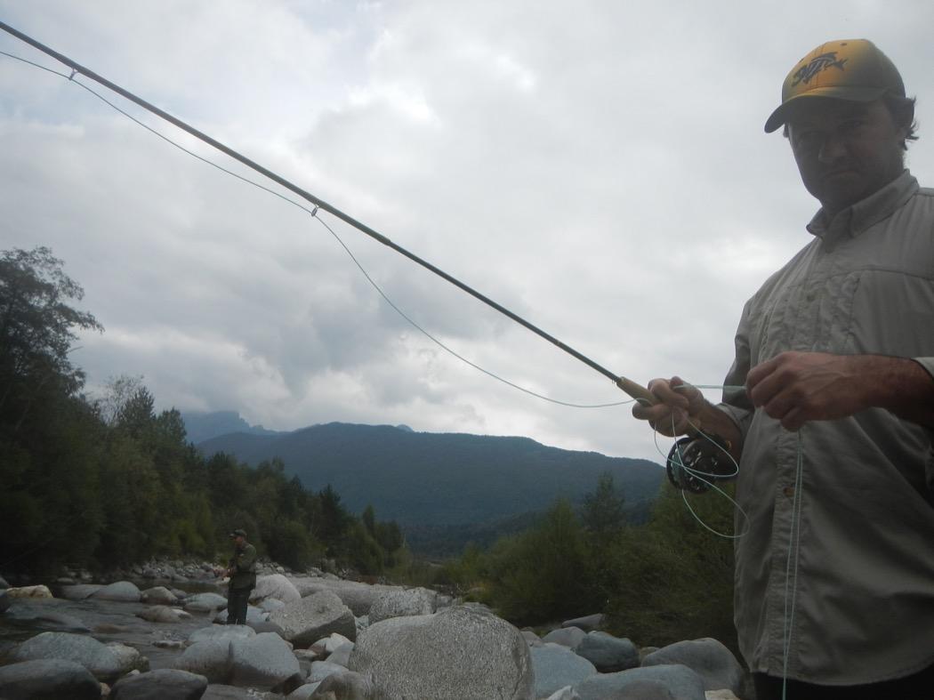 Max Ghibaudo pesca