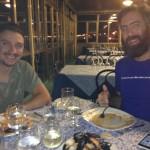 Professionisti della cena! Pro staff @ dinner! Fear No Grigliata