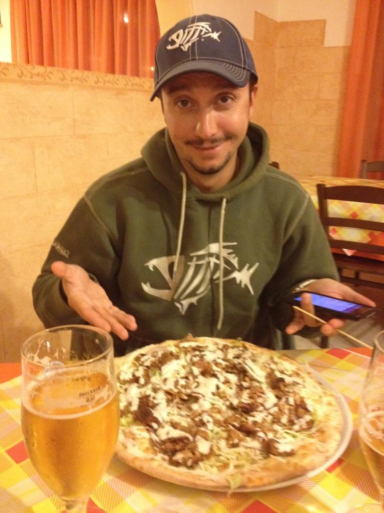 pizza e kebab