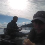 Panini in barca