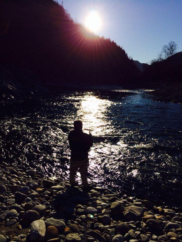 Sacralità della pesca ll'apertura