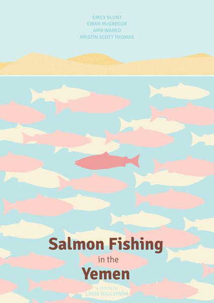 Pesca al salmone nello Yemen - copertina