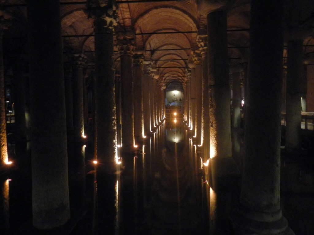 La cisterna di Istanbul