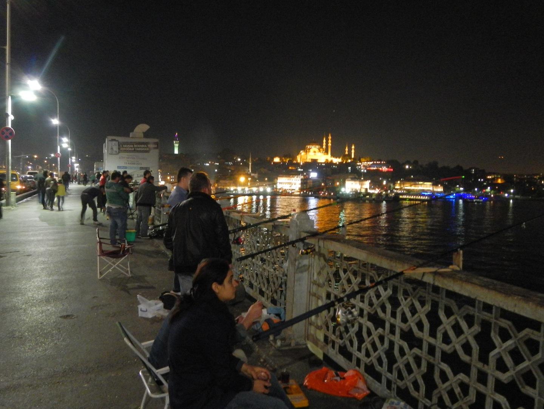 Le Mormore del Mar di Marmara. Pescare a Istanbul