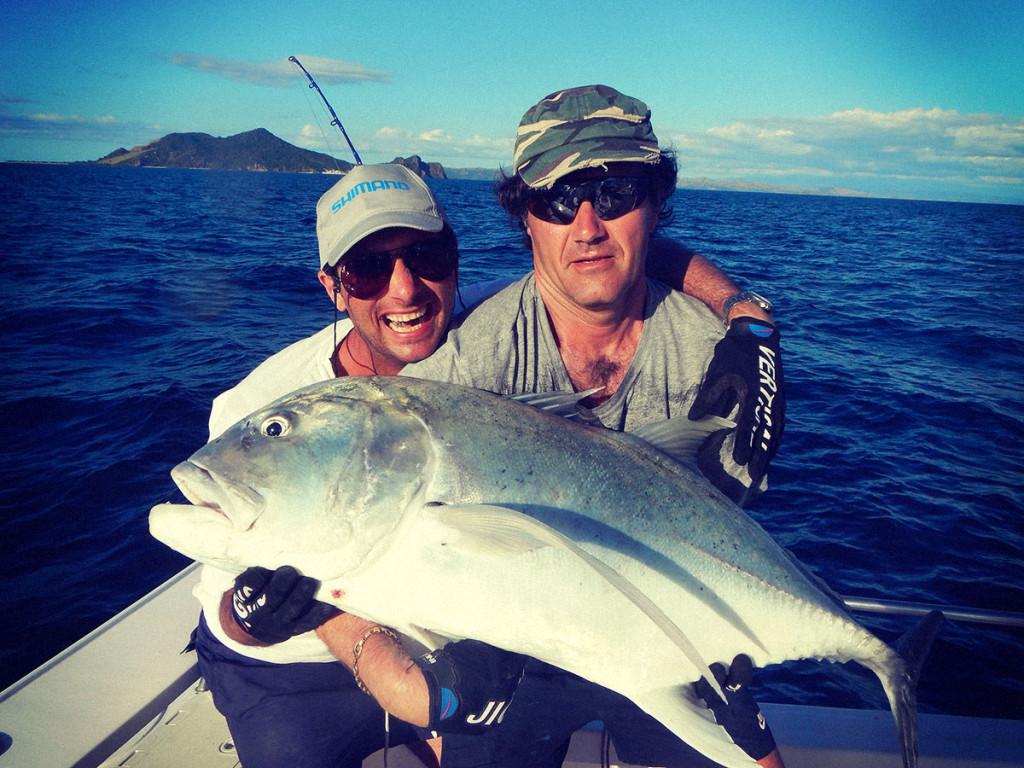 Ale e Tommaso con un altro Big Gt in Madagascar