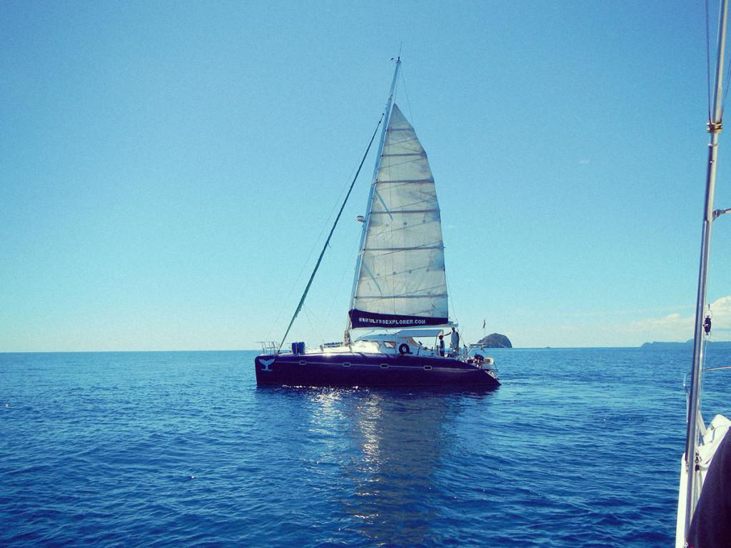 Calypso - la nostra barca madre in Madagascar