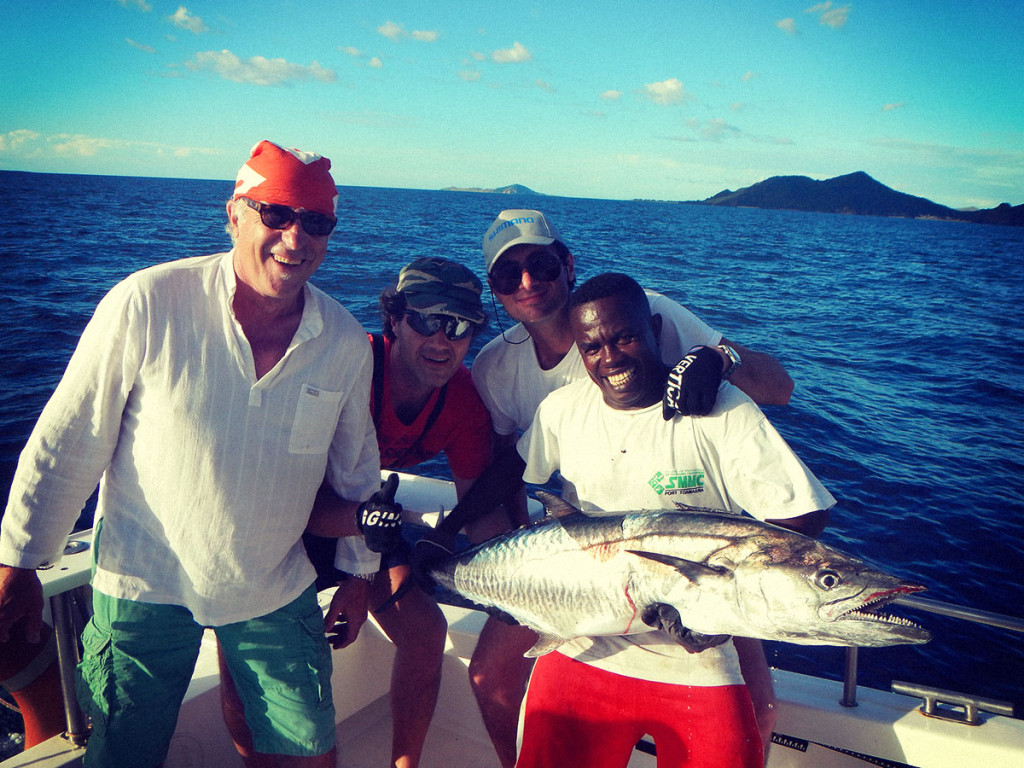 Tazar - o Spanish Mackarel - pescato nelle acque del Madagascar