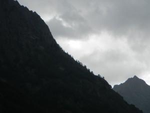 Tramonto in Valdieri