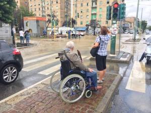 Disagi a Milano per l'alluvione