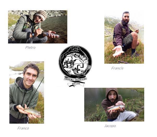 Catture Anonima Cucchaiino al Lago Alpino