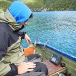 Federico in pesca