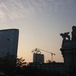 Stazione Centrale di Milano all'alba