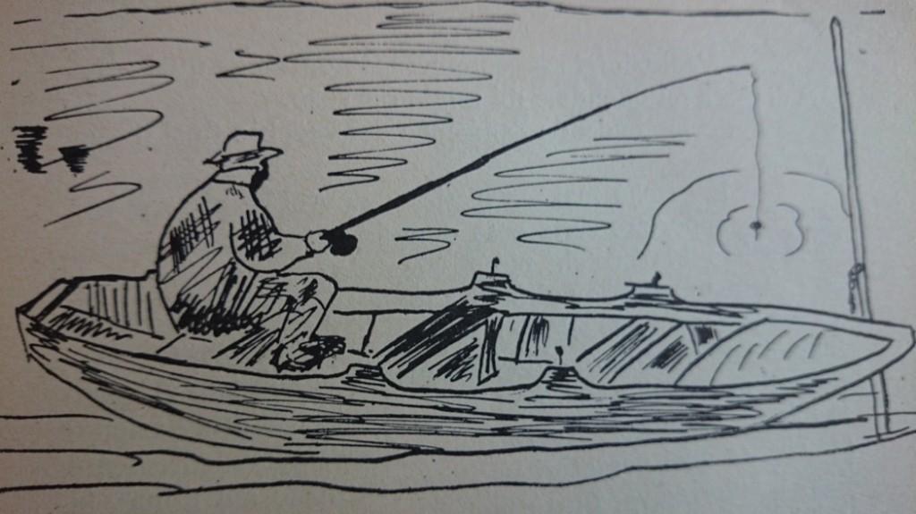 """Illustrazione """"Racconti di Pesca"""" Giorgio Bersan"""