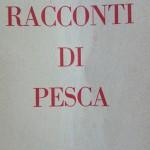 """Copertina """"Racconti di Pesca"""" Giorgio Bersan"""