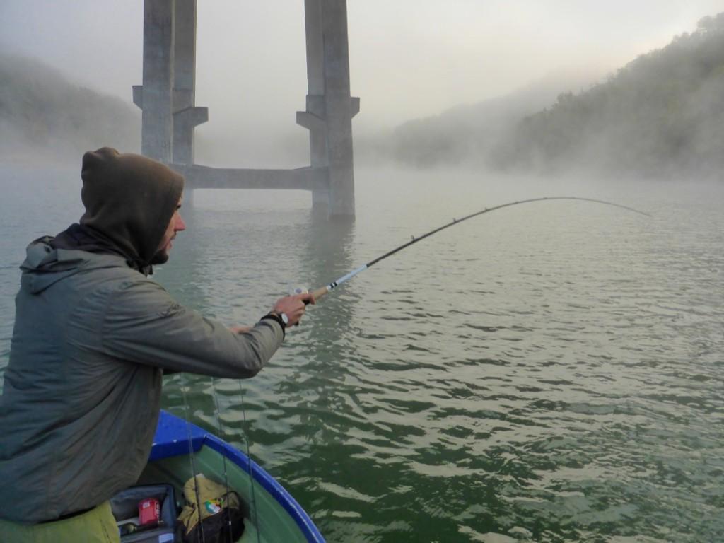 Pietro in pesca all'alba