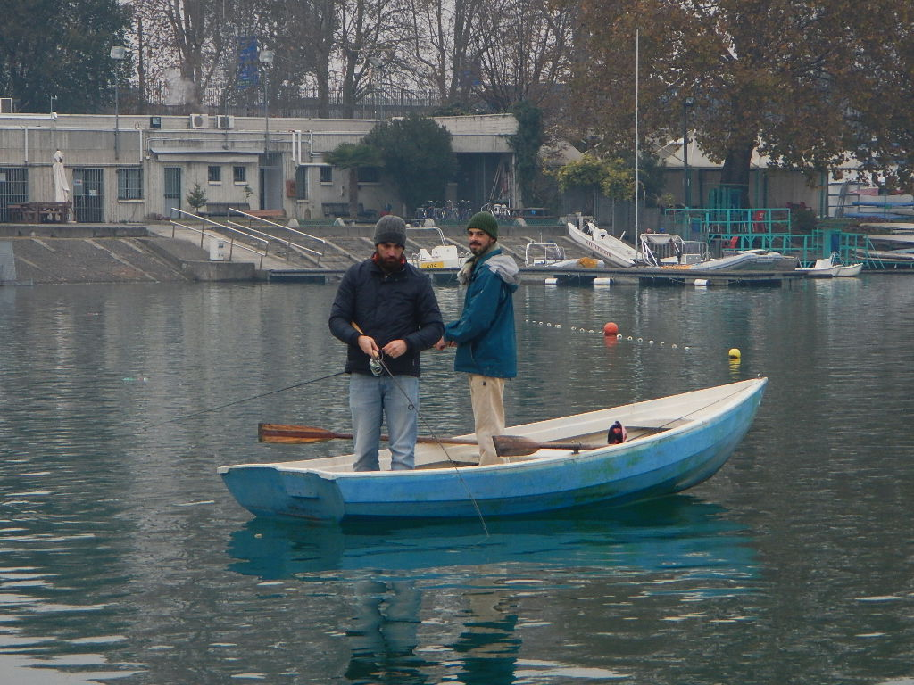 Arditi Bianconeri in pesca!