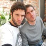 Franco e Pietro selfie paura...