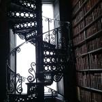 Cultura... Biblioteca al Trinity College
