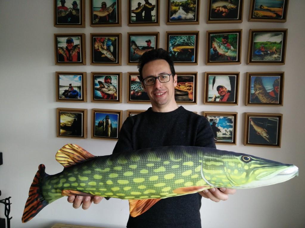 Lorenzo e un ...biiig fish!