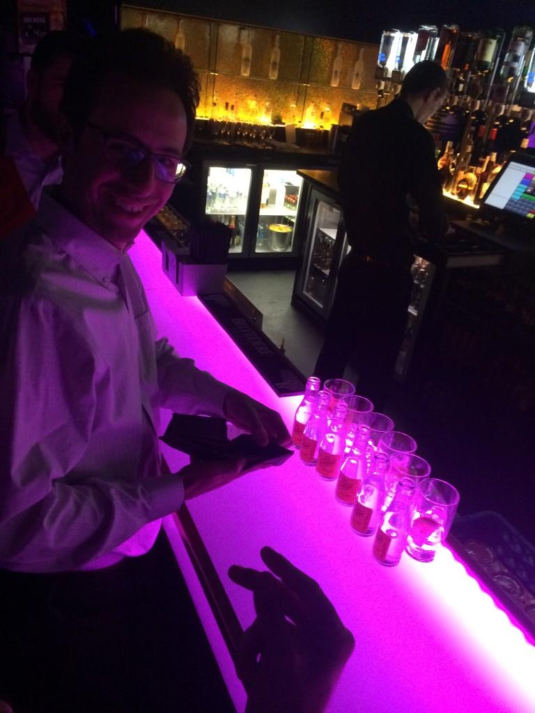 Lorenzo e il primo giro di Vodka