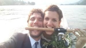 Oggi sposi... in pesca!