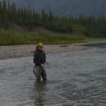 Pescando temolo a mosca secca in Alaska