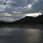 Paesaggi, tramonto in Alaska