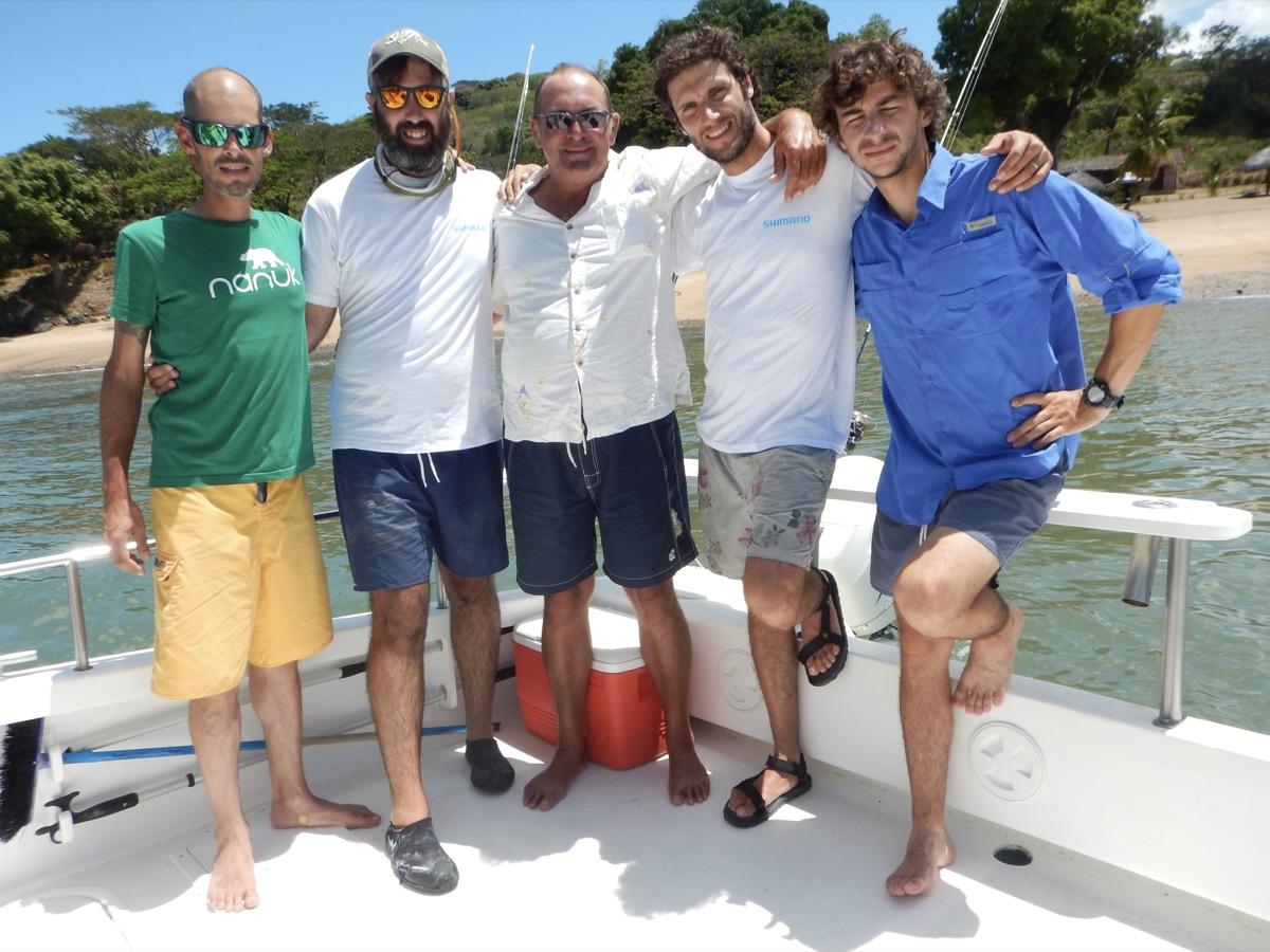 Matte, Francis, John, Pietro e Fede
