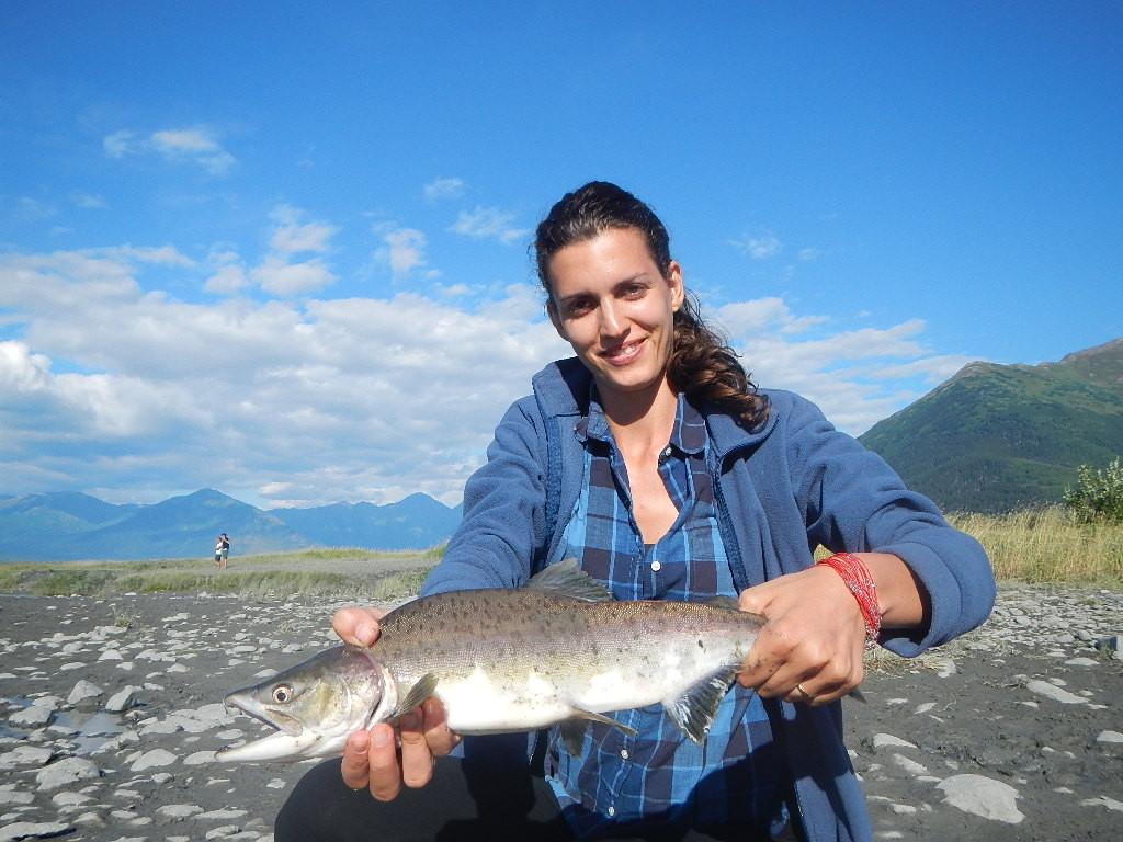 Marta e il suo pink salmon!