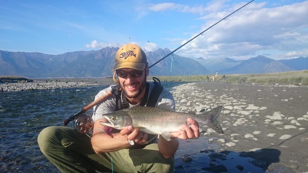 Pink Salmon a mosca Pietro