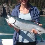 Marta e Silver Salmon o Coho