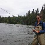 Marta prova la pesca a mosca!