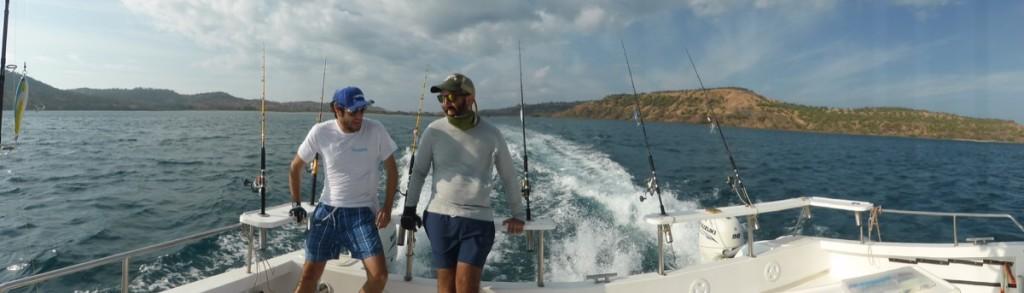In navigazione verso la gloria alieutica...