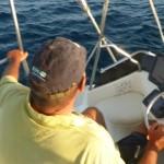 John Peluffo pattuglia il mare dall'alto del Blue Marlin