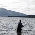 jumping salmon, pietro invernizzi, fly fishing in Alaska