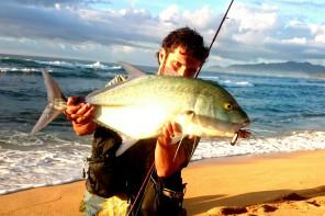 Fishing in Hawaii – Bluefin Trevally, Blue Ulua