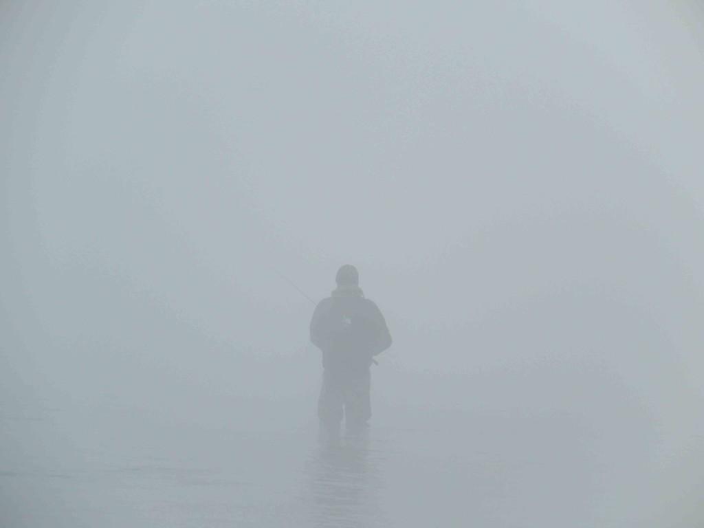 Il pescatore nella nebbia