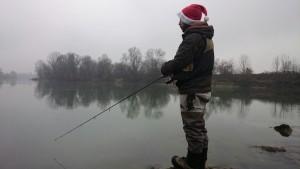 Jacopo pesca Natale