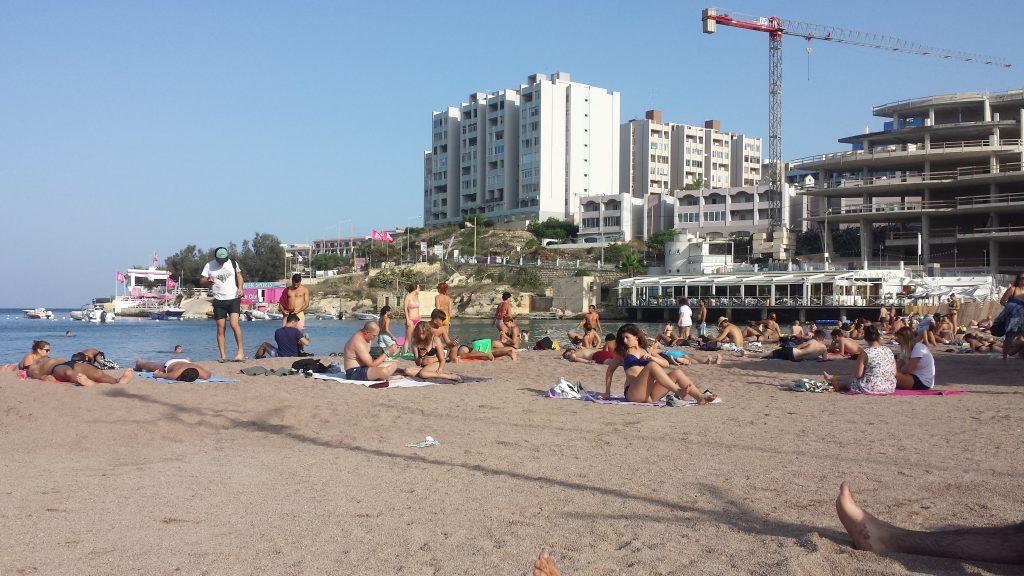 Spiaggia a St. Juliens, Malta