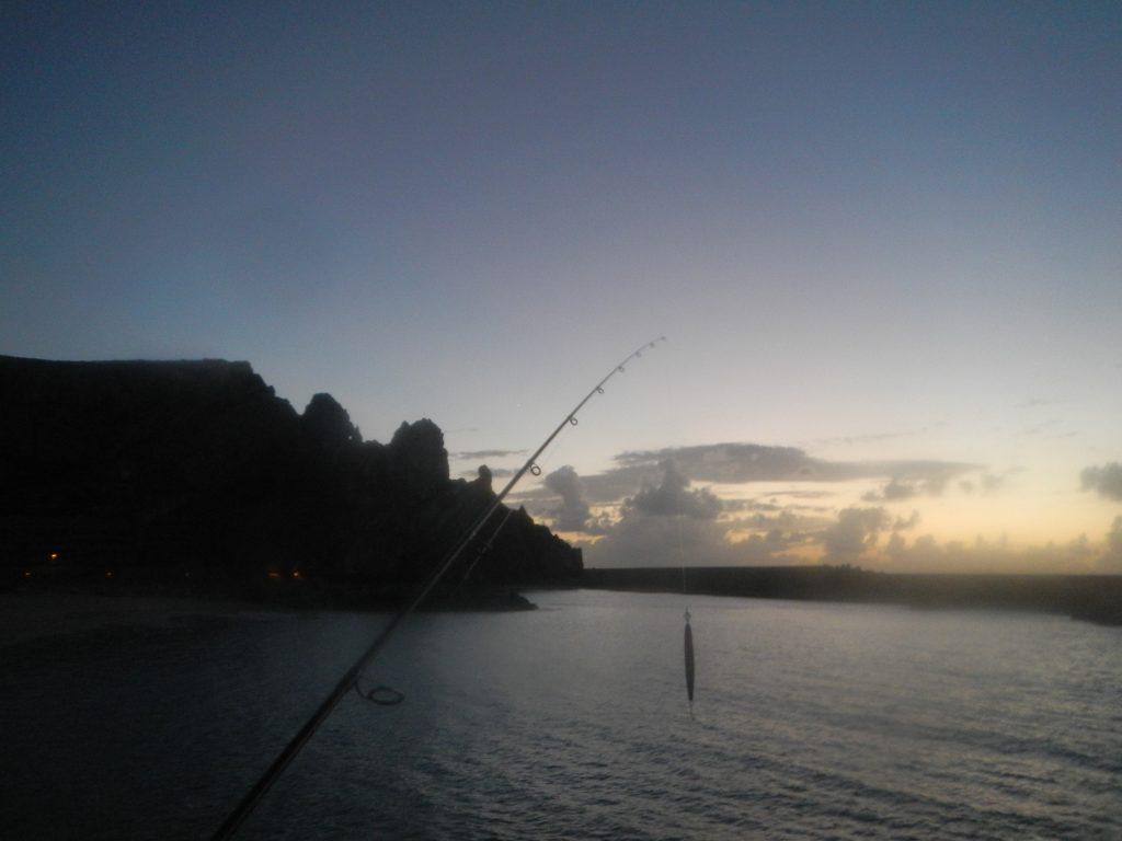 Alba in pesca...